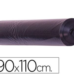 Saco BASURA NEGRO 90 x 110 galga 200, rollo de 10 uds.