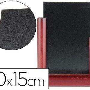 pizarra negra, doble cara, 10x15