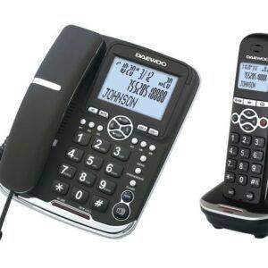 TELÉFONO DAEWOO COMBO DECT+HILOS DW0075