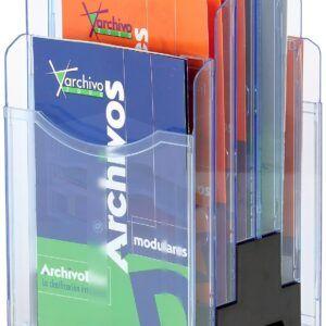 expositor giratorio a4 vertical 2 caras archivo 2000