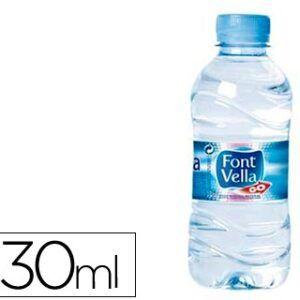 35 BOTELLAS DE AGUA FONT VELLA 0.33L