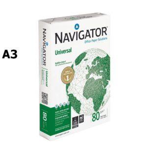 papel navigator a3 80g