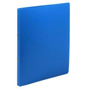 Carpeta EXACOMPTA anillas A4 2-15 MM Azul Polipropileno Flexible