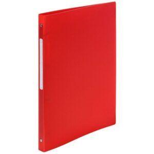 Carpeta EXACOMPTA anillas A4 2-15 MM Rojo Polipropileno 54195E