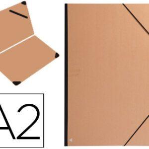 Carpeta dibujo 42 x 59,4 (A2) CLAIREFONTAINE Papel kraft