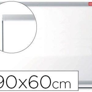 Pizarra blanca NOBO Nano clean magnetica, acero marco aluminio 90 x 60 cm