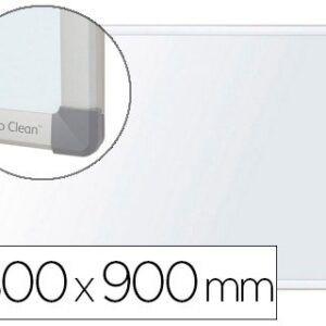 Pizarra blanca NOBO Nano clean magnetica, acero marco aluminio 90 x 180 cm