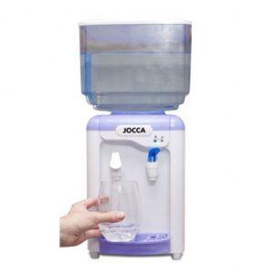 Dispensador de agua Jocca con deposito agua fria y del tiempo.
