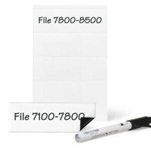 Portaetiquetas magnetico 3L, bolsa 6 unidades, 25 x 75 mm