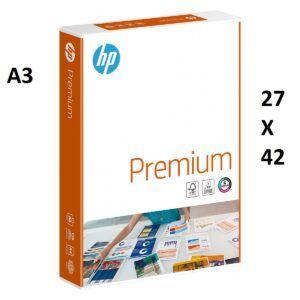 Papel multifunción blanco HP Premium A3, de 80 grs. 500 hojas