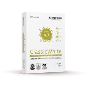 Papel reciclado Steinbeis Classic A4 80g/m² 500h