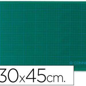 Plancha para corte Q-connect 30x45 cm A3, verde