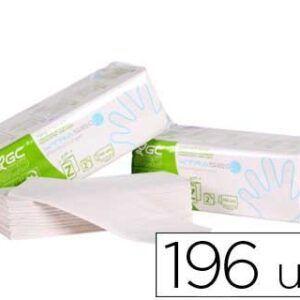 Toalla de papel mano engarzada ecológica 2 capas