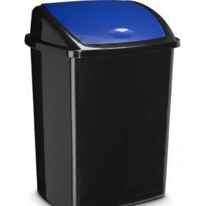 Papelera Contenedor de 50 litros con tapa basculante