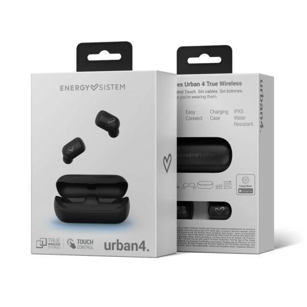 Auricular ENERGY EARPHONES URBAN 4 TRUE WIRELESS BLACK