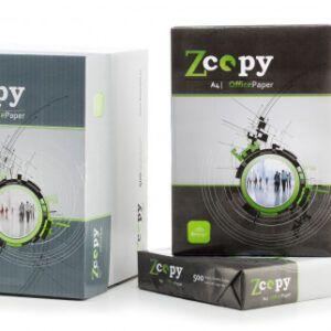 6 Cajas de 5 paquetes Papel blanco multifunción A4 Zcopy 500 hojas