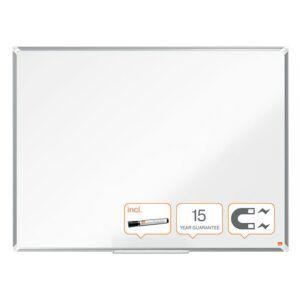 Pizarra blanca magnética 120 x 90 cm lacada Nobo